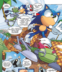 Green Hill Zone Archie Genesis