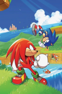IDW Sonic 3 A artwork