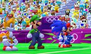 Mario Sonic London 3DS Gameplay 481