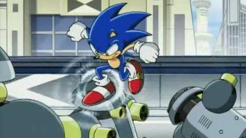 Sonic X-Sonic Drive