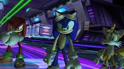 Zero Gravity Team Sonic