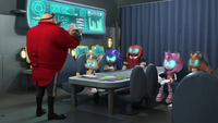 Eggman and Team Cybonic disccusion