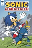 IDW Sonic 5 Cover B