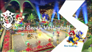 Mario & Sonic Rio 2016 Olympic Games - Duel Beach Volleyball Loading Screen