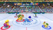 Mario Sonic Olympic Winter Games Gameplay 112