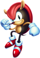 Sonic Mania - Mighty