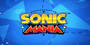 Sonic Mania On-screen Title