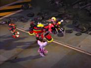Team Dark tricked