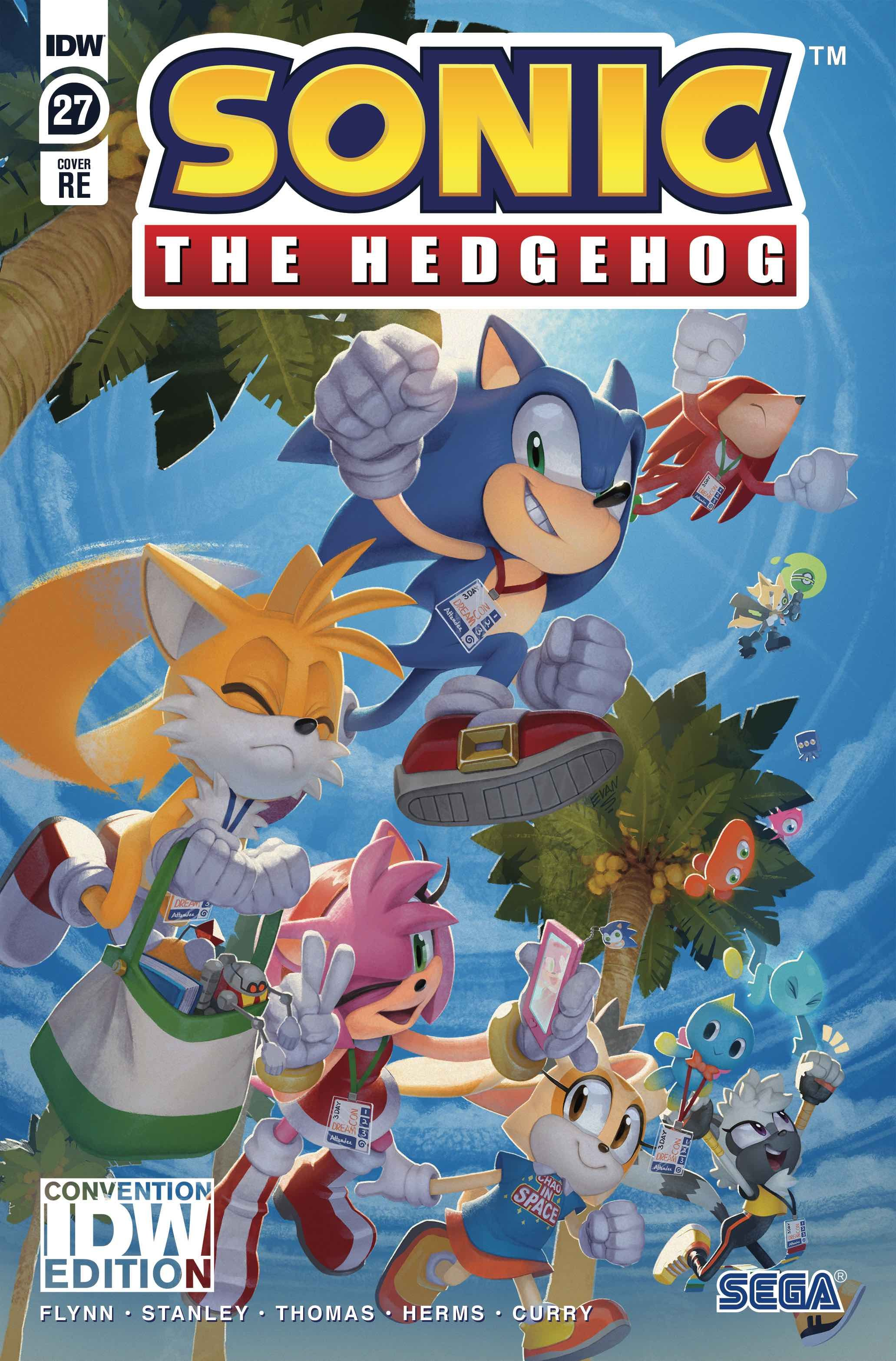 Idw Sonic The Hedgehog Issue 27 Sonic News Network Fandom