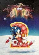 Sonic 1993 Calendar - November December