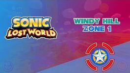 Windy Hill Zone 1 - Sonic Lost World