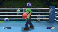 Mario & Sonic at the Rio 2016 Olympic Games - Luigi Boxing