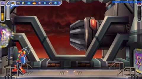 Mega Man Maverick Hunter X Walkthrough (Boss Spider)