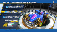 Metal Sonic Legendary Boom Module Rear