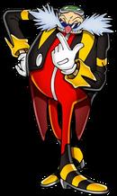 Rush Eggman Nega pixel art
