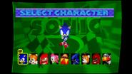 Sonic R select 1