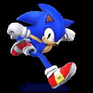 Sonic the Hedgehog in Super Smash Bros. for Nintendo 3DS & Wii U