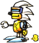 1Silver Sonic
