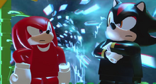 Knuckles i Shadow Lego