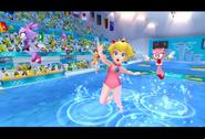 PeachDaisyAmyBlaze London2012 Screenshot 4(Wii)
