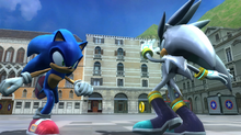 Sonic vs Silver 06