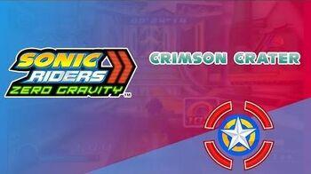 Crimson Crater - Sonic Riders Zero Gravity