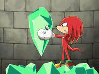 Knuckles - Sonic X - Emerald Shard