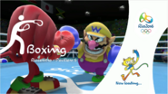 Mario & Sonic at the Rio 2016 Olympic Games - Boxing Loading Screen