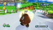 Mario Sonic Olympic Winter Games Gameplay 159