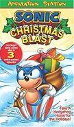 Sonic Christmas Blast VHS Sterling