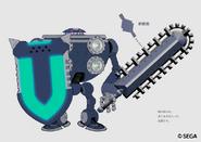 Electro Knight koncept