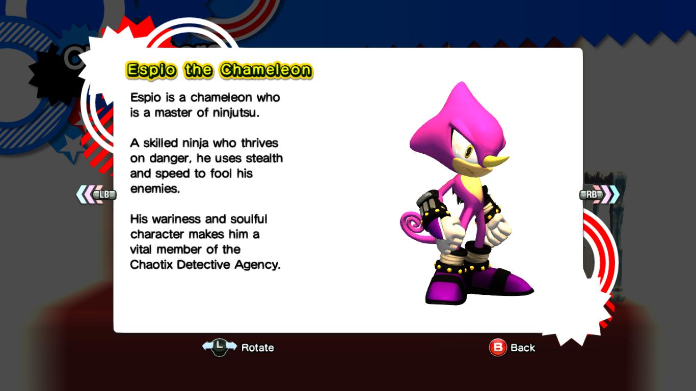 Espio The Chameleon Sonic News Network Fandom