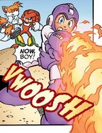 Fire Tornado Mega Man