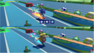 Mario & Sonic at the Rio 2016 Olympic Games - Sonic VS Wario at Triple Jump