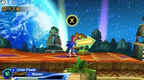 Sonic Generations 3DS - Modern Tropical Resort