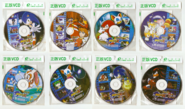 Sonic X Chinese DVDs