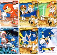 Sonic X tcg Common 061-065