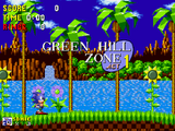 Green Hill Zone (16-бит)