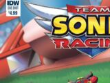 Team Sonic Racing (komiks)