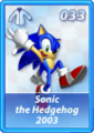 Card 033 (Sonic Rivals)