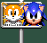 Sonic & Tails Sign (Sonic 2 Beta)