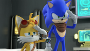 Sonic and Tails reporting for duty