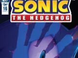 IDW Sonic the Hedgehog N° 016