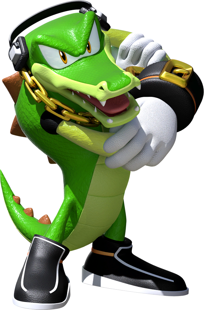 Image result for vector the crocodile""