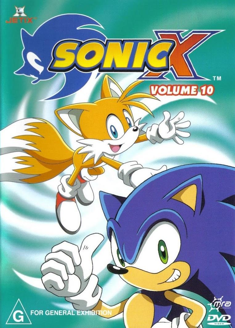 Sonic X Volume 10 Australia Sonic News Network Fandom