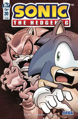 IDW Sonic the Hedgehog Issue 20
