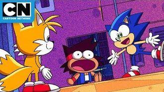KO Meets Sonic The Hedgehog! - OK K.O.! Let's Be Heroes - Cartoon Network