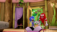 S1E41 Sonic Knuckles Amy's house