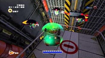 Sonic Adventure 2 (PS3) Iron Gate Mission 1 A Rank