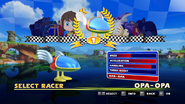 Sonic and Sega All Stars Racing character select 13